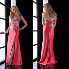 Most Popular Off-shoulder Beaded Open Leg Evening Dress