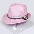 fedora sombrero de paja