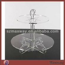 Clear Circle Acrylic Plastic Cupcake Stand Cake Tools