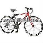S5460A Volare 700c Men's Flat Bar Road Bike in Red/Black