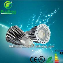 Aluminium high lumen 6W gu10 spotlight led for house