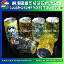 de aluminio de fácil extremo abierto latas palstic