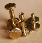 flat head brass screw rivets