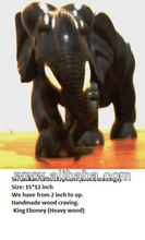 Elephant wood craft