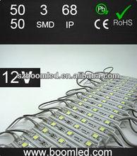 2013 high quality 5050 3smd smd led sign modules/led sign light module/led flexible strip module