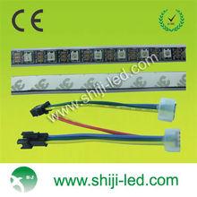Black PCB WS2812B WS2811 Digital 5050 RGB LED Strip Light DC5V New Section