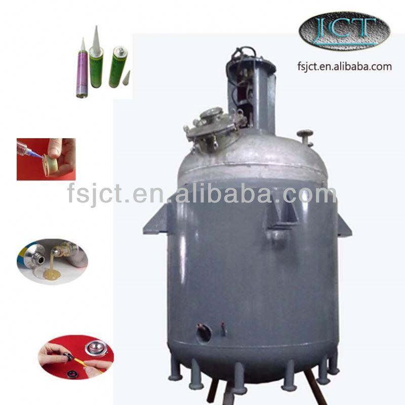 waterproof high temperature sealant reactor machine