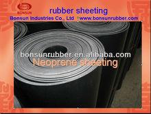BONSUN Competitive Industrial 1mm-50mm Thk Neoprene Sheet Rubber