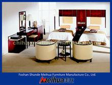 Middle East Style Black Color Bedroom Furniture