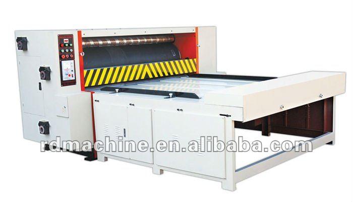 [RD-MQS1200-1600]Semi auto chain feeding rotary manual die cutting machine