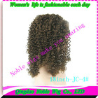 Jerry curl 100% Peruvian Remy Human Hair Lace Wig color 4# Front Lace Wig with Baby Hair african american French Lace wholesale