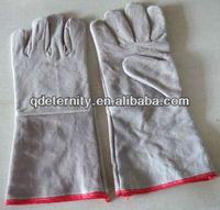 cow split leather,good service ,gloves,qingdao