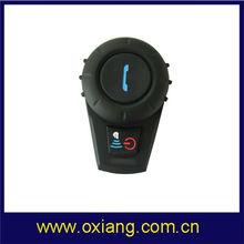 High quality best motorcycle helmet bluetooth headset/intercom