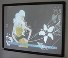 white drawing board smart board interactive whiteboard teaching board