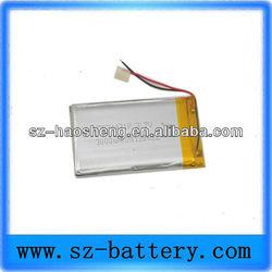 3000mah 824471 li polymer 3.7v rechargeable battery for mobile TV