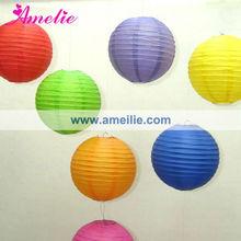 A38PL Colorful lanterns paper supplies
