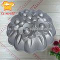 liga de alumínio estilo flor bolo pan molde