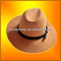 2014 fashion wool women modern hats factory direct hats (ST-H1416)