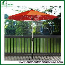 cheap middle post aluminium outdoor umbrella