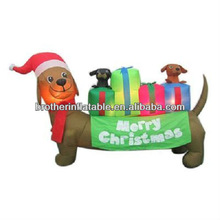 Decoration Figure Inflatable Dachshund Dog