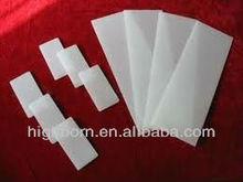 retangle milky white quartz glass plate accurate tolerance