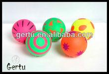 6cm fluorescent rubber foam ball,mini balls