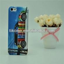 Fashion novel hard cover skin case for iphone 5c
