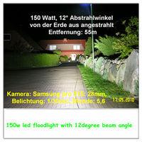 100W led garden light
