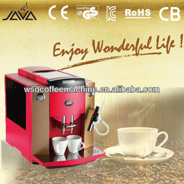 ground bean coffee machine