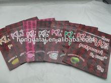 klimax herbal incense bag/fast shipping 10g potpourri bags/custom design plastic zipper bag