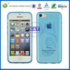 C&T Crystal clear soft case for iphone 5c tpu cover case