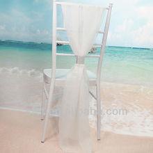 Most popular fashion nylon organza ribbon for wedding decoration personalized