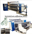 Automatic plastic film LDPE stretch film slitting machine TUV Rheinland