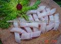 congelados pangasius pescado de la tira