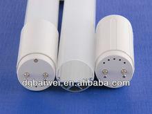 5 feet 1.5m 150cm LED T8 fluorescent tube 1500mm light PC Cover+Aluminum Lamp Free sample