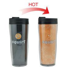 16oz travel mug customised logo for promotion
