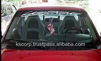 Custom Windshield Car Sticker