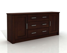 Furniture Pine CHEST 2D/3S XL pine solid wood furniture