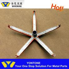 Ningbo OEM Factory Aluminum Die Casting Office Chair Wheel Base