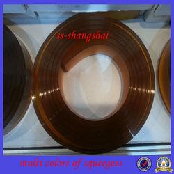 silicon, PU, rubber Silk screen printing squeegee