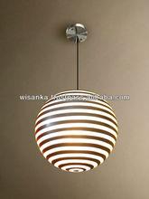 Zebra Hanging Lamp