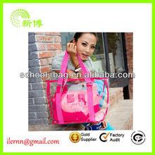 Promotion Clear PVC Fashion Tote Bag