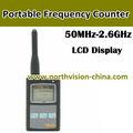 RF-Frequenz Sucher mit lcd-display für zeigt Häufigkeit und Stärke