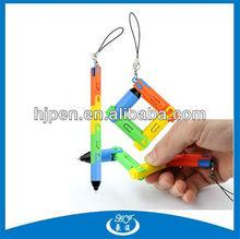 Plastic Promotional Pen,Creative Pen,Wonder Ball Pen,Collapsible Pen