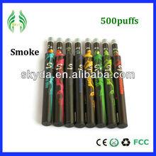 Green healthy life e cigarette 500-800puffs electronic disposable e shisha sticks