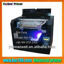 UV metal printer, not need any preliminary processing