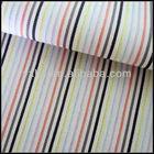 Yarn Dyed Cotton Stripe Pattern Jacquard Polyester Fabric