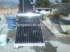 calentador solar de agua de acero inoxidable
