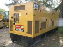 Used Caterpillar C18 Canopied Diesel genset