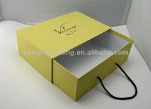 Custom fancy drawer garment packaging box
